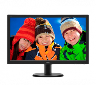 "Philips V-line 243V5LSB 23.6"" LED LCD Monitor"