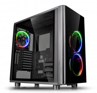 Thermaltake View 31 RGB Dual Tempered Glass Mid Tower Gaming Computer Case
