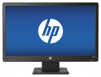 "HP W2081D 20"" LED Backlit Monitor - Black"