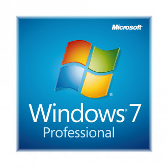 Microsoft FQC-08289 64 Bit Windows 7 Professional Operating System With Service Pack