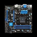 MSI A88XM-E45 FM2+ / FM2 AMD A88X (Bolton D4) 8 x SATA 6Gb/s USB 3.0 HDMI Micro ATX AMD Motherboard-A88XM-E45-by MSI