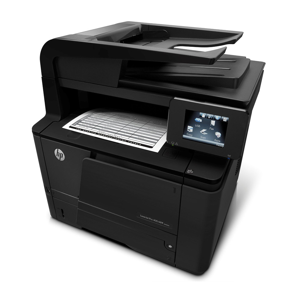 hp laserjet pro 400 mfp m425dn all in one monochrome laser printer cf286a only at. Black Bedroom Furniture Sets. Home Design Ideas