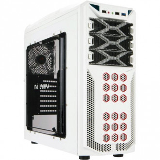 IN WIN GT1 White SECC Steel ATX Mid Tower Computer Case