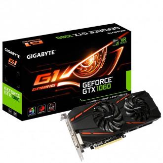Gigabyte GeForce GTX 1060 6GB GDDR5 Video Card GV-N1060G1GAM-6GD R2