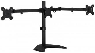 3 LCD Tilt Monitor Mount Desk