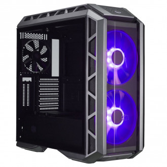 Cooler Master MasterCase H500P ATX Mid-Tower Case with Two 200mm Front RGB Fans