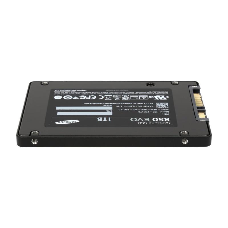 Samsung 850 Evo Series Mz 75e1t0b Am 2 5 1tb Sata Iii 3 D Vertical