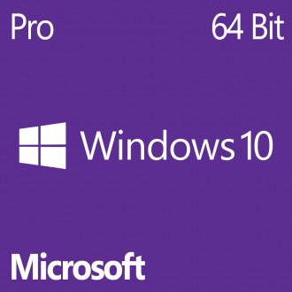 Microsoft Windows 10 Pro 64-bit - OEM - DVD