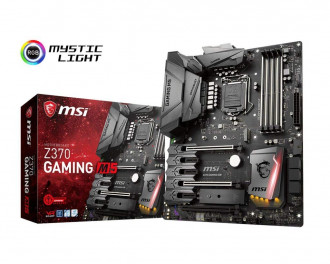 MSI Z370 SLI PLUS LGA 1151 Intel Z370 HDMI SATA 6Gb/s USB 3.0 ATX Intel Motherboard
