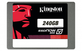 Kingston SSDNow v300 240GB, 2.5-inch, SATA III, Solid State Drive