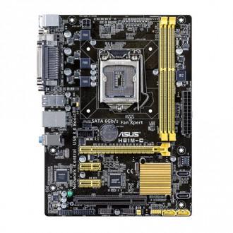 ASUS H81M-C/CSM LGA 1150 Intel H81 SATA 6Gb/s USB 3.0 Micro ATX Intel Motherboard